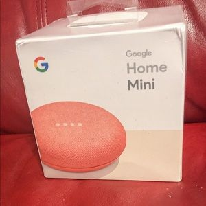 Google Home Mini-Coral